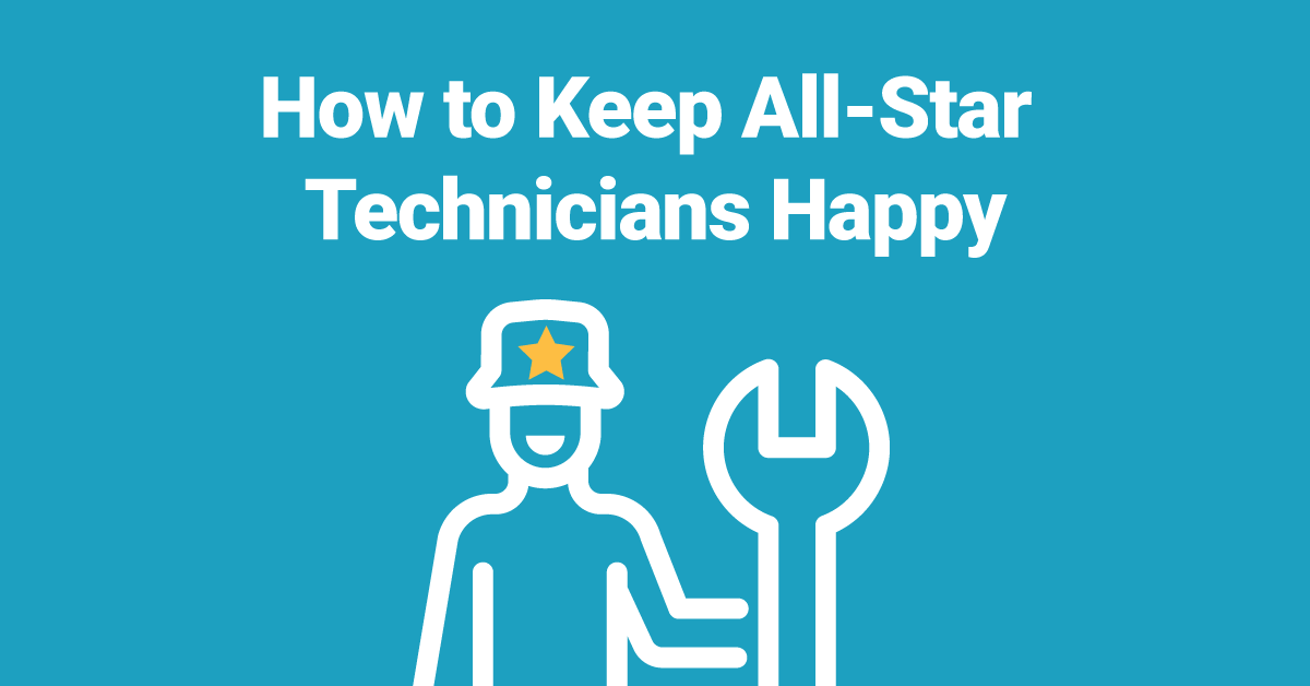 How to Keep your All-Star HVAC Technicians Happy