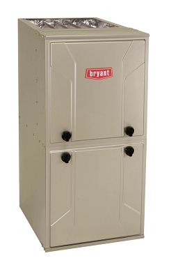 Bryant® Preferred 96% AFUE 80000 Btuh Single Stage 4-Way Multipoise ECM Condensing 2 Stage Variable Speed Gas Furnace (17.5